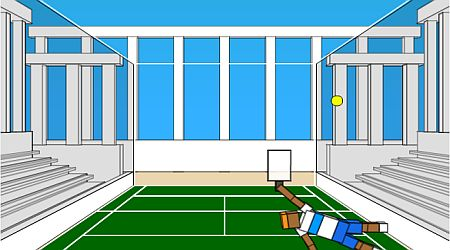 Game's screenshot - Ragdoll Tennis