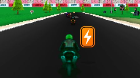 Game's screenshot - Rash Race 2