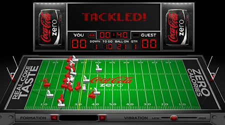 Game's screenshot - Retro Electro Football