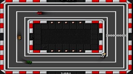 Game's screenshot - Retro Pixel Racers