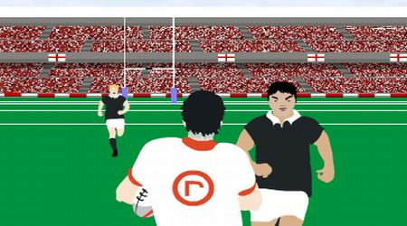 Game's screenshot - Rockport Rugby Game