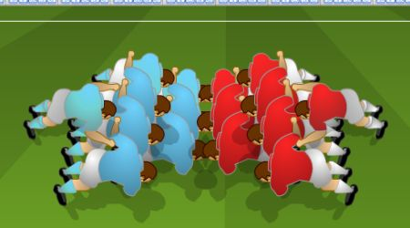 Game's screenshot - Rugby World Cup 2007