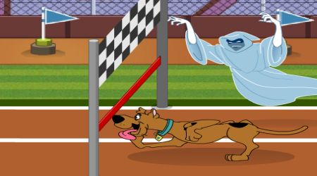 Scooby doo hurdle race racing games sportigi - Race de scooby doo ...