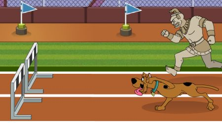 Game's screenshot - Scooby-Doo Hurdle Race