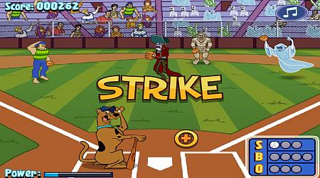 Game's screenshot - Scooby Doo MVP Baseball Jam
