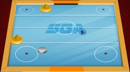 Game's screenshot - SGA Air Hockey