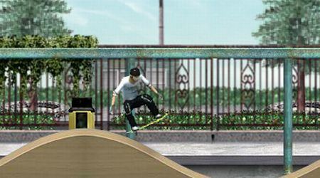 Game's screenshot - Skateboard City