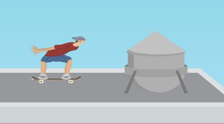 Game's screenshot - Skate For Fun