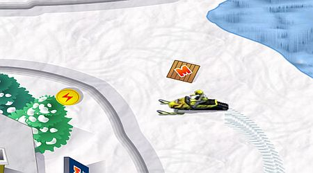 Game's screenshot - SkiDoo TT