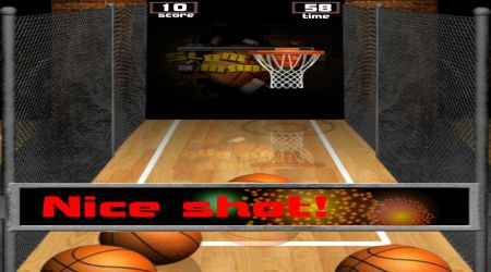 Game's screenshot - Slam Dunk Mania