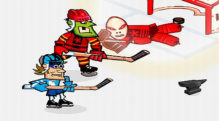 Game's screenshot - Slapshot Mania