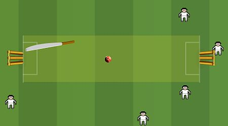 Game's screenshot - Slog Cricket
