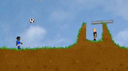Game's screenshot - Soccer Balls