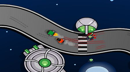 Game's screenshot - Space Race