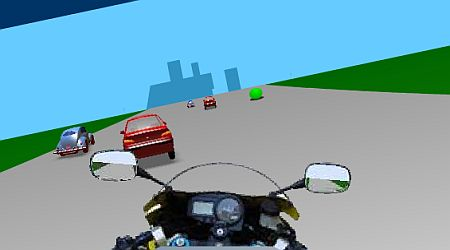 Game's screenshot - Speed Biker