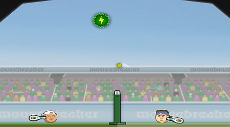 Game's screenshot - Sports Heads Tennis