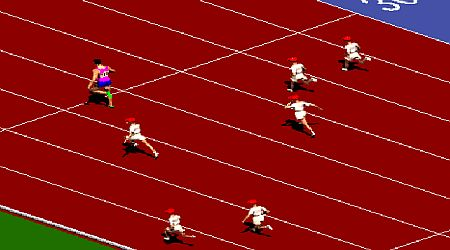 Game's screenshot - Sprinter