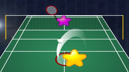 Game's screenshot - Star Badminton