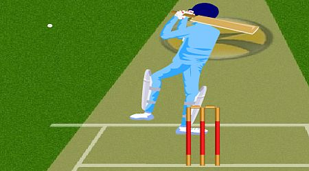 Game's screenshot - Stick Cricket