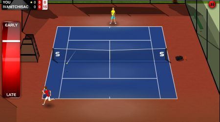 Game's screenshot - Stick Tennis