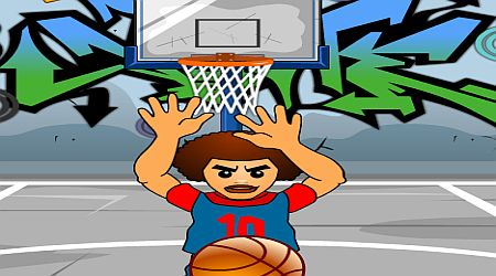 Game's screenshot - Street Basketball