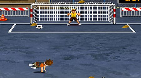 Game's screenshot - Street Football