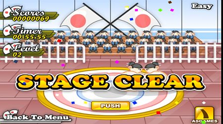 Game's screenshot - Sumo Tournament