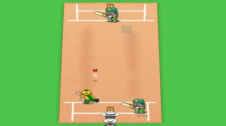 Game's screenshot - Super 6 Cricket