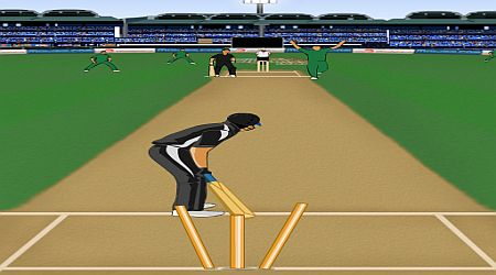 Game's screenshot - Super Cricket