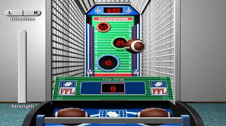 Game's screenshot - Super Pass Football