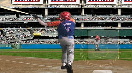 Game's screenshot - Super Slugger