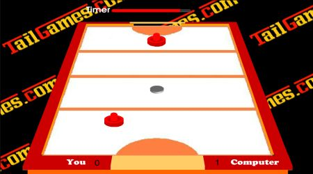 Game's screenshot - Table Air Hockey