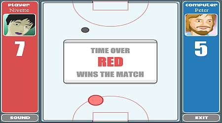 Game's screenshot - Table Hockey Tournament