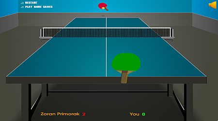 Game's screenshot - Table Tennis