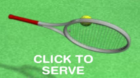 Game's screenshot - Tennis