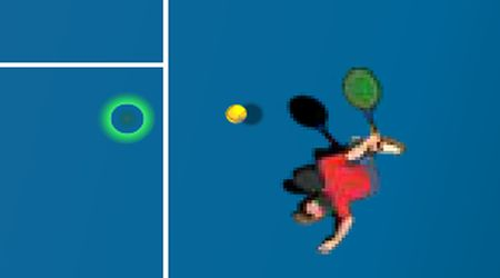Game's screenshot - Tennis 2000