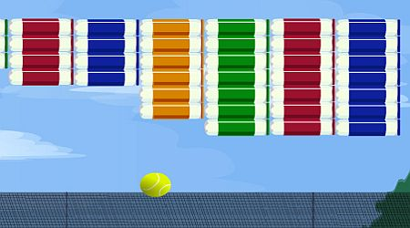 Game's screenshot - Tennis Breakout