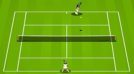 Game's screenshot - Tennis Game