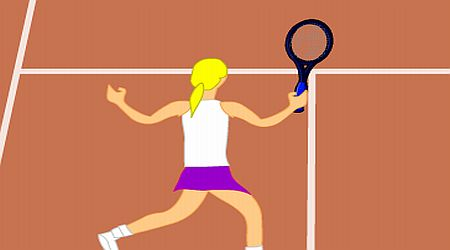 Game's screenshot - Tennis Guru