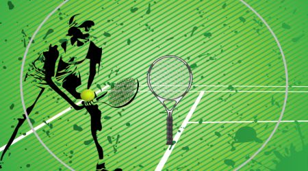 Game's screenshot - Tennis Manic