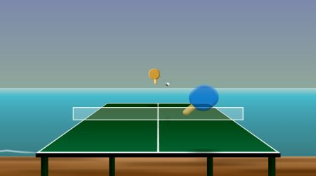 Game's screenshot - Table Tennis 2.5D