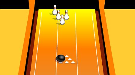 Game's screenshot - Ten Pin Bowling