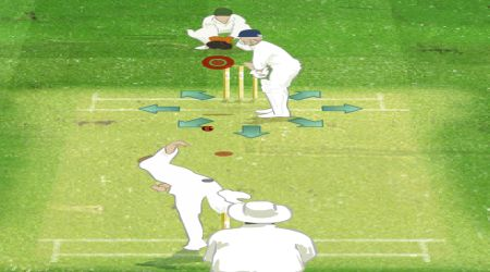 Game's screenshot - The Ashes Cricket 2009