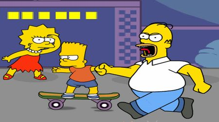 Game's screenshot - The Simpsons
