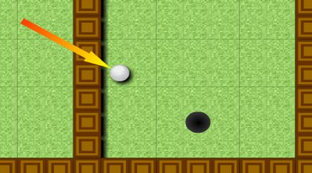 Game's screenshot - Tiny Golf