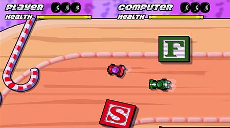 Game's screenshot - Toy Box Rally