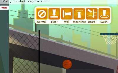 Game's screenshot - Trick Hoops Challenge