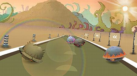 Game's screenshot - UFO Racing