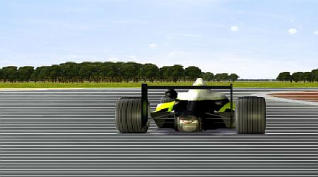 Game's screenshot - Ultimate Formula Racing