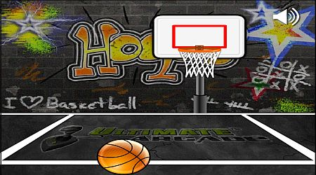 Game's screenshot - Ultimate Mega Hoops